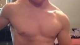 Ginger Muscle Boy Cums